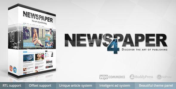 Newspaper v4.6.1 – Responsive WordPress News/Magazine