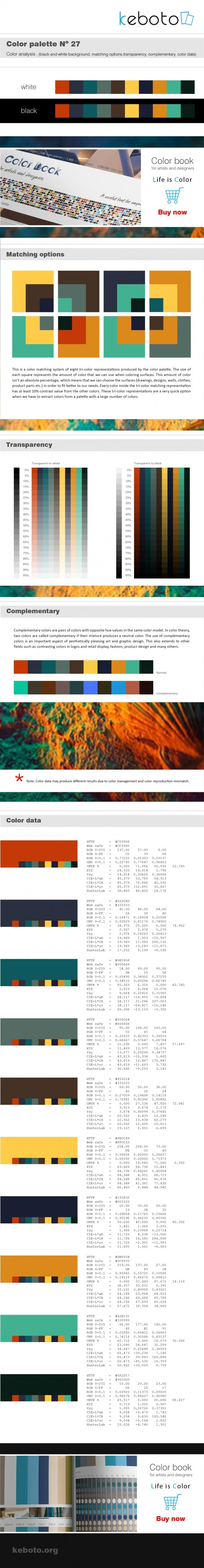 Keboto - Color Palette Νο27