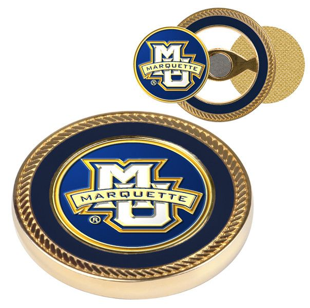 Marquette Golden Eagles - Challenge Coin / 2 Ball Markers