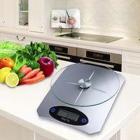 5Kg/11lbs x 1g/0.1 oz Balanza Digital Dieta de la Cocina Escala De Vidrio…