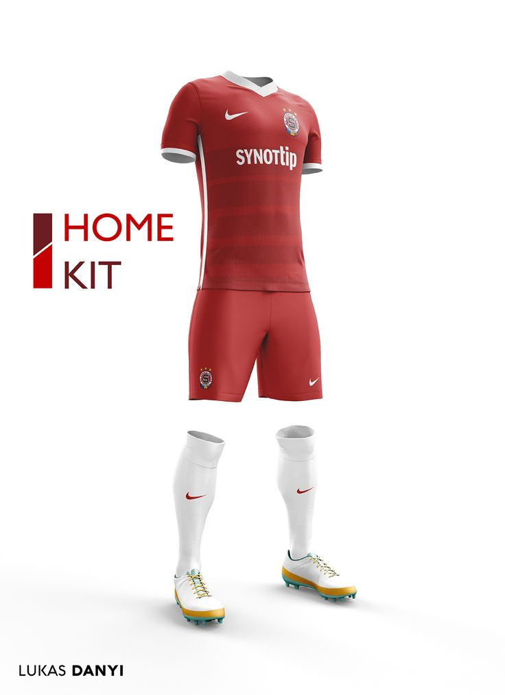 I designed football kits for Sparta Praha for the upcoming season 16/17.