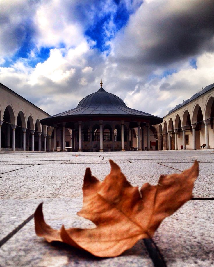 Edirnekapı Mihrimah sultan cami avlusu