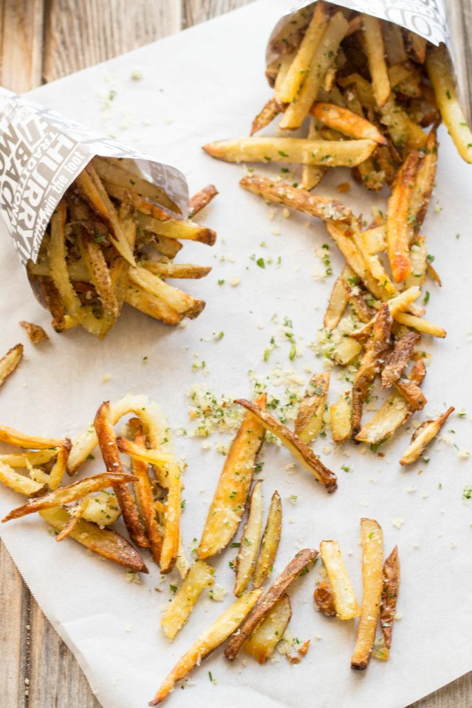 Oven Baked Parmesan Truffle Fries | Coley Cooks!