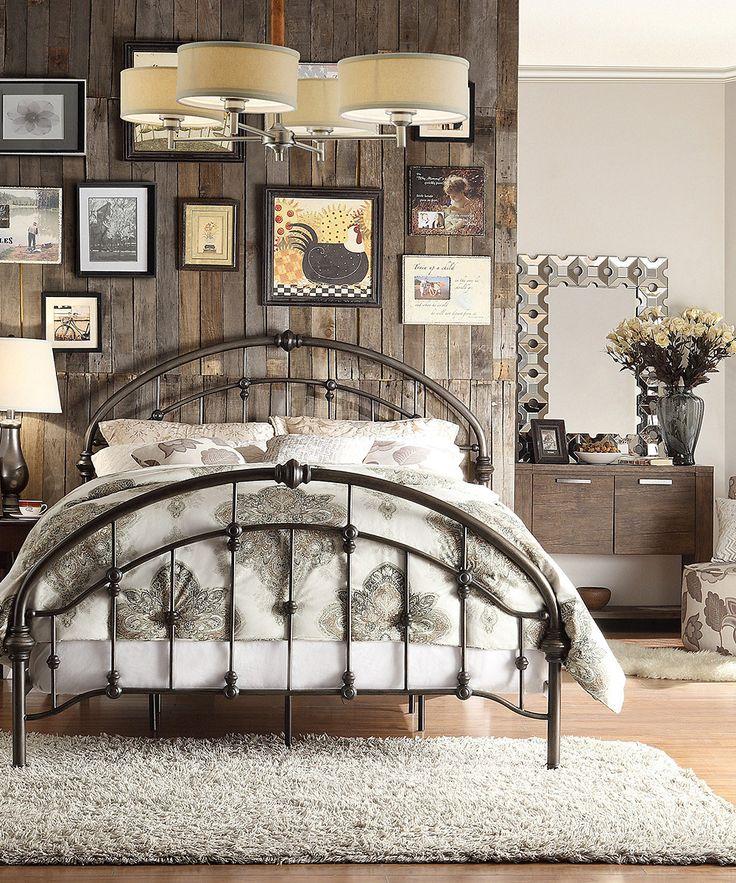 Iron Arch Queen Bed by HomeBelle zulilyfinds