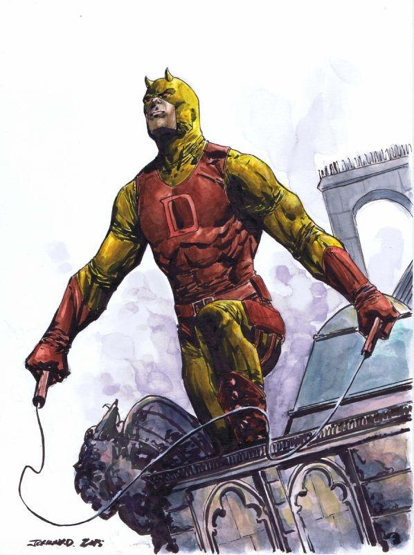 Just awesome...Daredevil by Johnny Desjardins #Marvel #comics #art