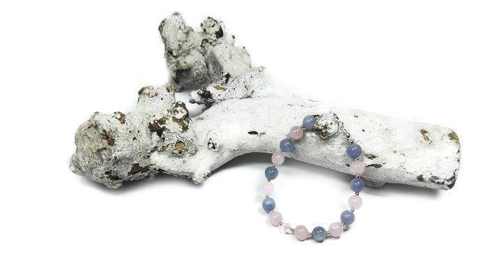 Armband Serenity Rose | Exclusieve Edelsteen Armbanden | Beads Creations Kralen en Sieraden Maken