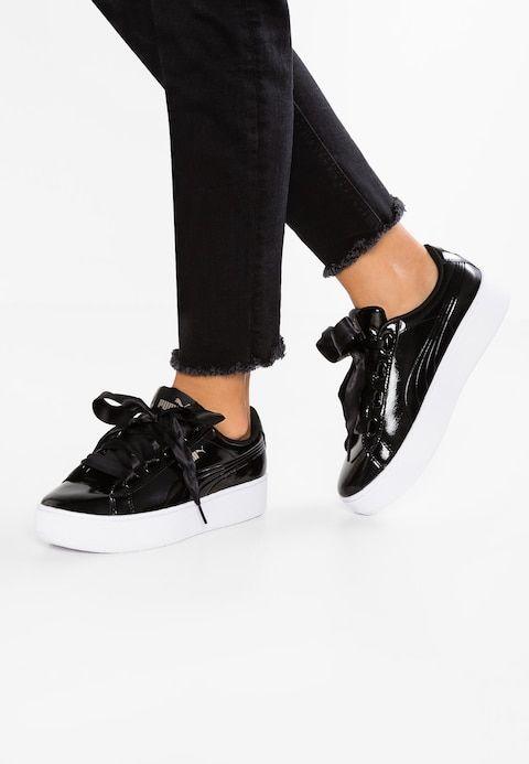 Low Ribbon Platform BlackMy Sneaker Vikky P Puma mOvwynN08