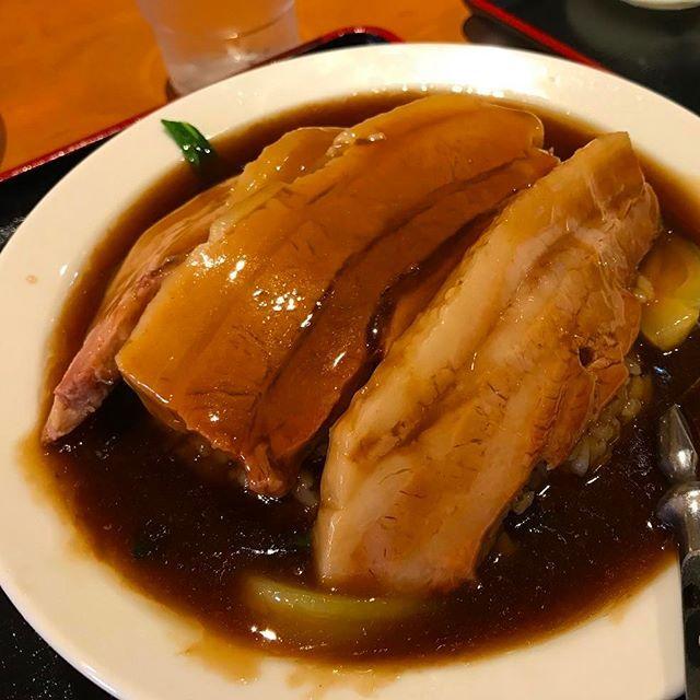 #あんかけ丼 #あんかけ #バラ肉 #肉 #meat #ごはん #池尻大橋 #東京 #lunch #ランチ #instagood  #instafood #グルメ #food #eat #豚肉 #tokyo #中華 #中華料理