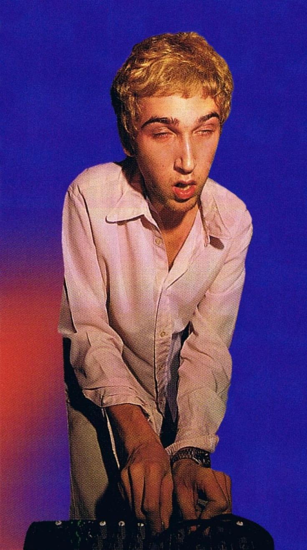 Thomas Bangalter...the master of prize faces