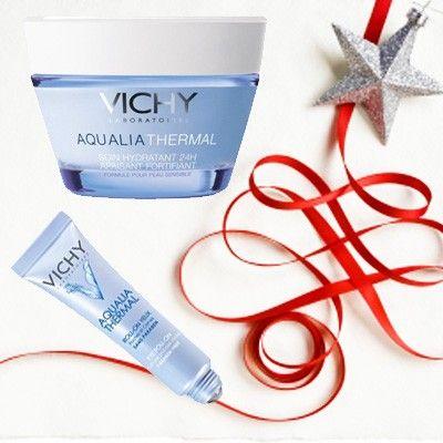 Vichy aqualia thermal pot + aqualia eye cream