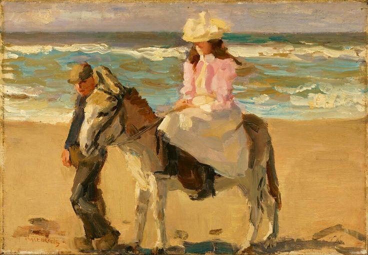 Isaac Israëls, Meisje op ezel, 1898