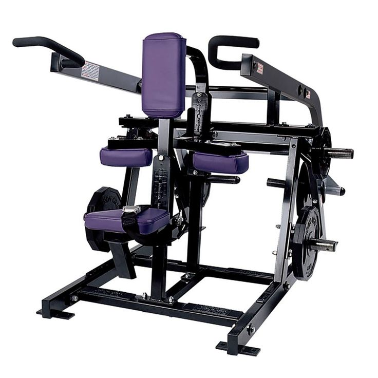 Hammer Strength Plate-Loaded Seated Dip