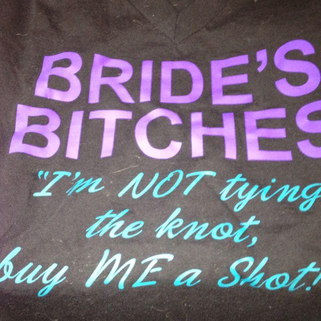 Bachelorette shirts !