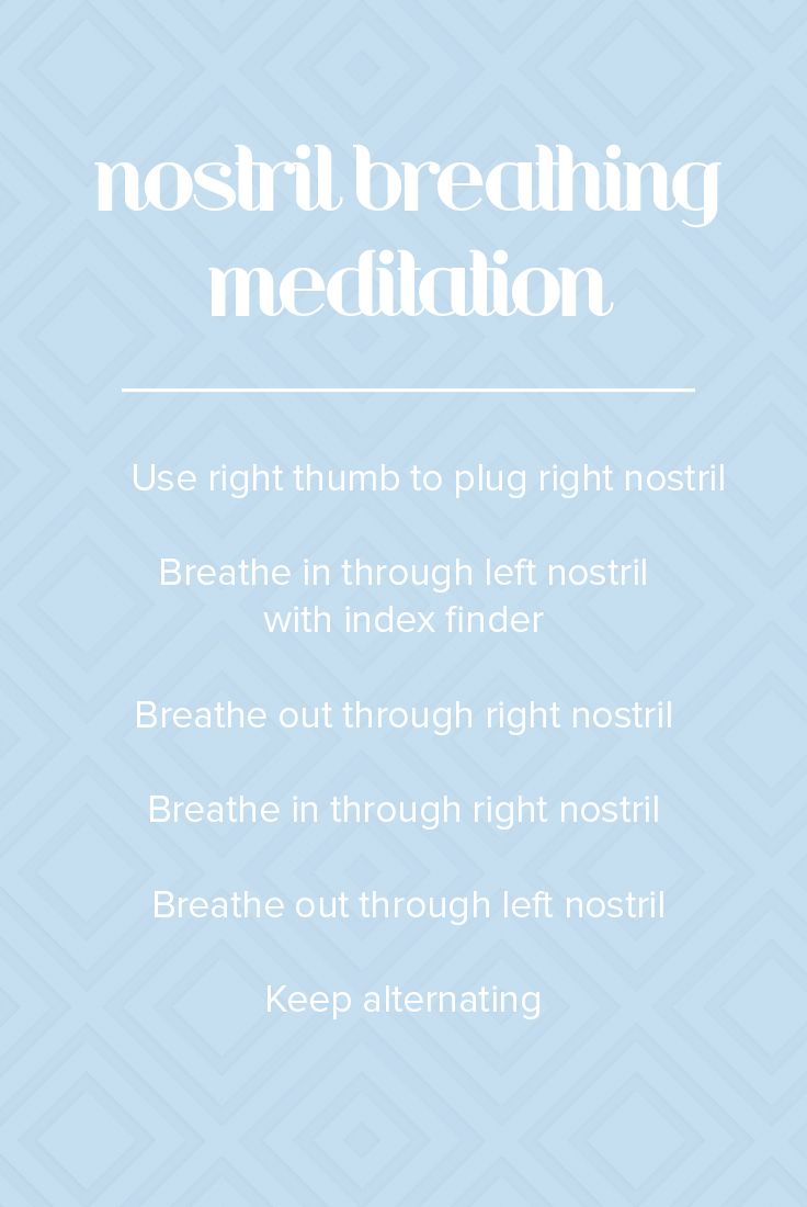 This breathing meditation will help you become calmer and less stressed.