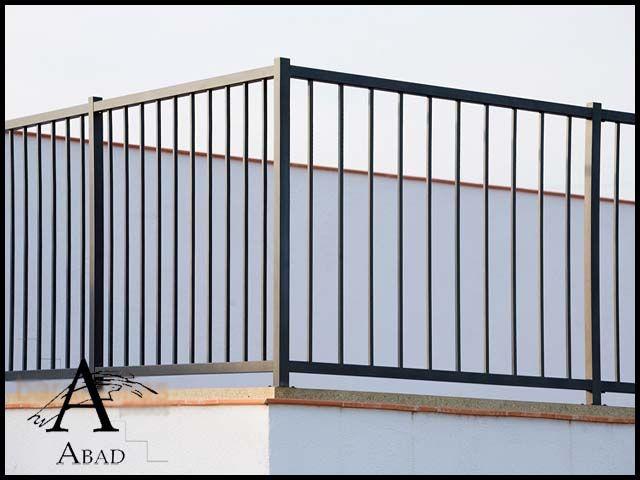 Mejores 16 im genes de barandillas y balcones en pinterest for Barandas de seguridad