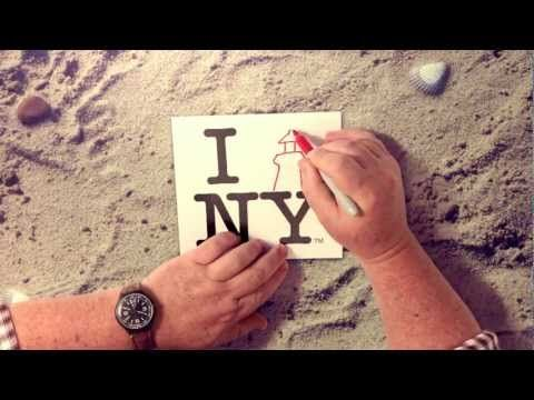 """New York just launched a new tourism campaign featuring a reinvention of the iconic """"I Love NY"""" logo."""