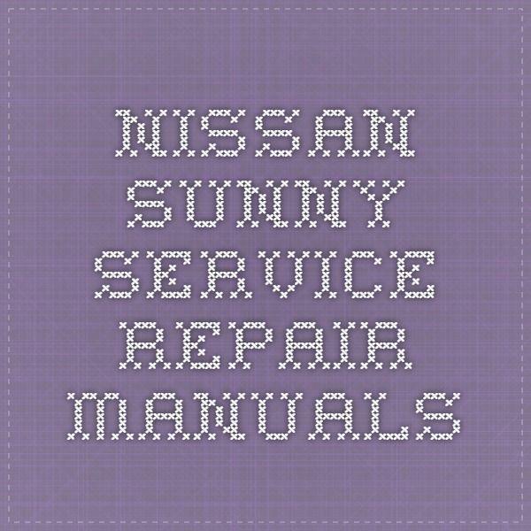 64 best nissan service repair manual pdf images on pinterest nissan sunny service repair manuals fandeluxe Images