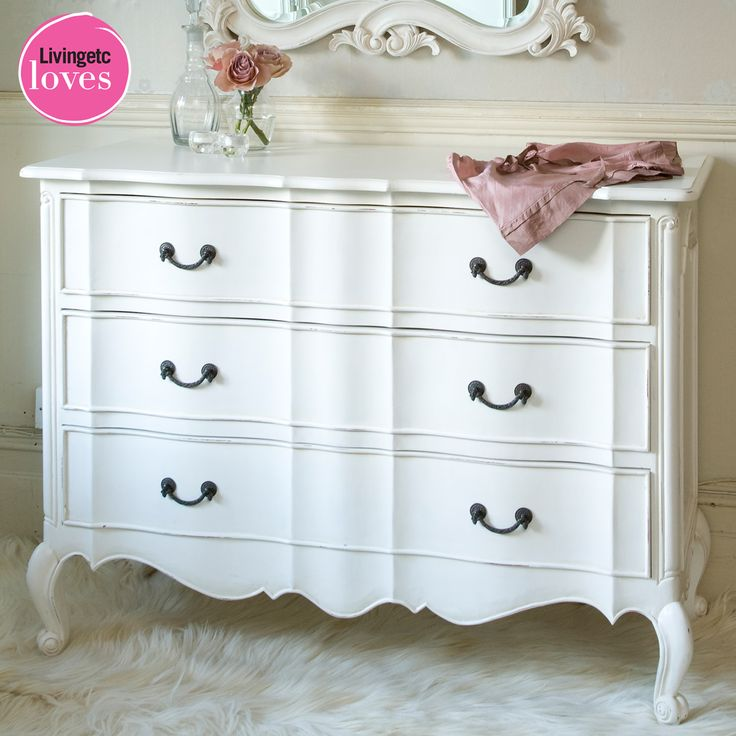 Provencal Classic White Chest of Drawers. Best 25  White chests ideas on Pinterest   Bedroom furniture redo