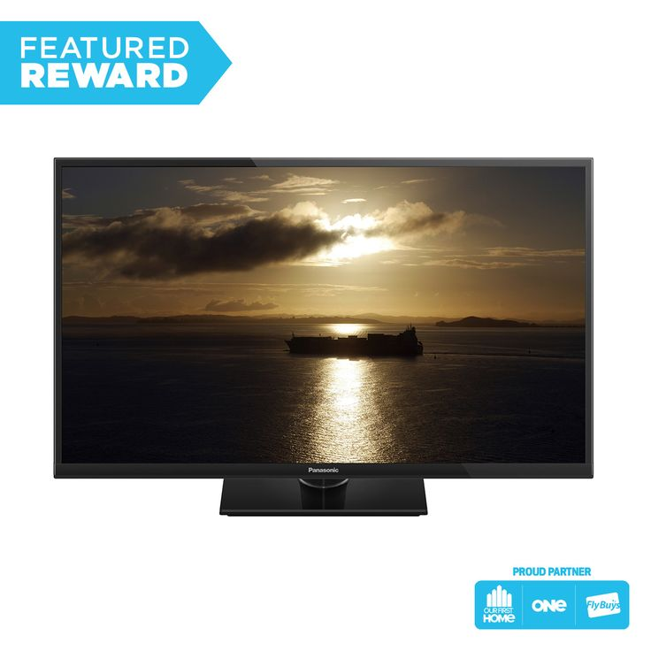 """This would be perfect mounted on the bedroom wall. Pick me please! Panasonic 32"""" High Definition LED TV #flybuysnz #2480points #OFHNZ"""
