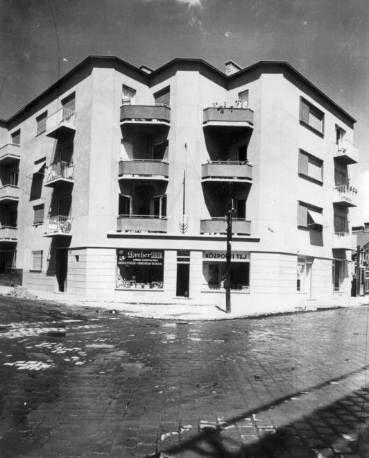 Visegrádi utca - Thurzó utca sarok.