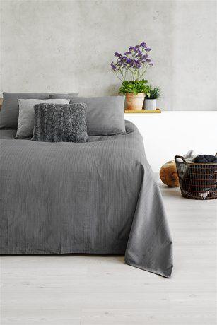 Sängöverkast ALVIK 220x240 grå | JYSK
