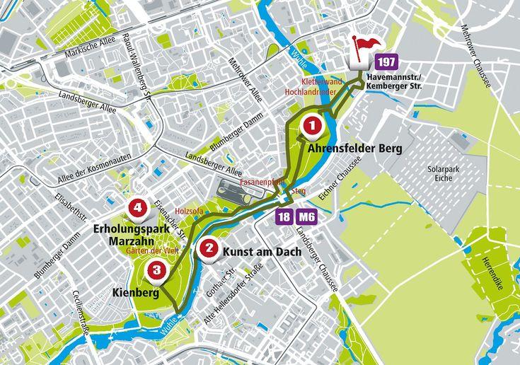 """Das Buch """"Berlin geht"""" von Melanie Knies zeigt Routen jenseits des touristischen Berlins - durch Neukölln, Mitte, Marzahn und Kreuzberg."""