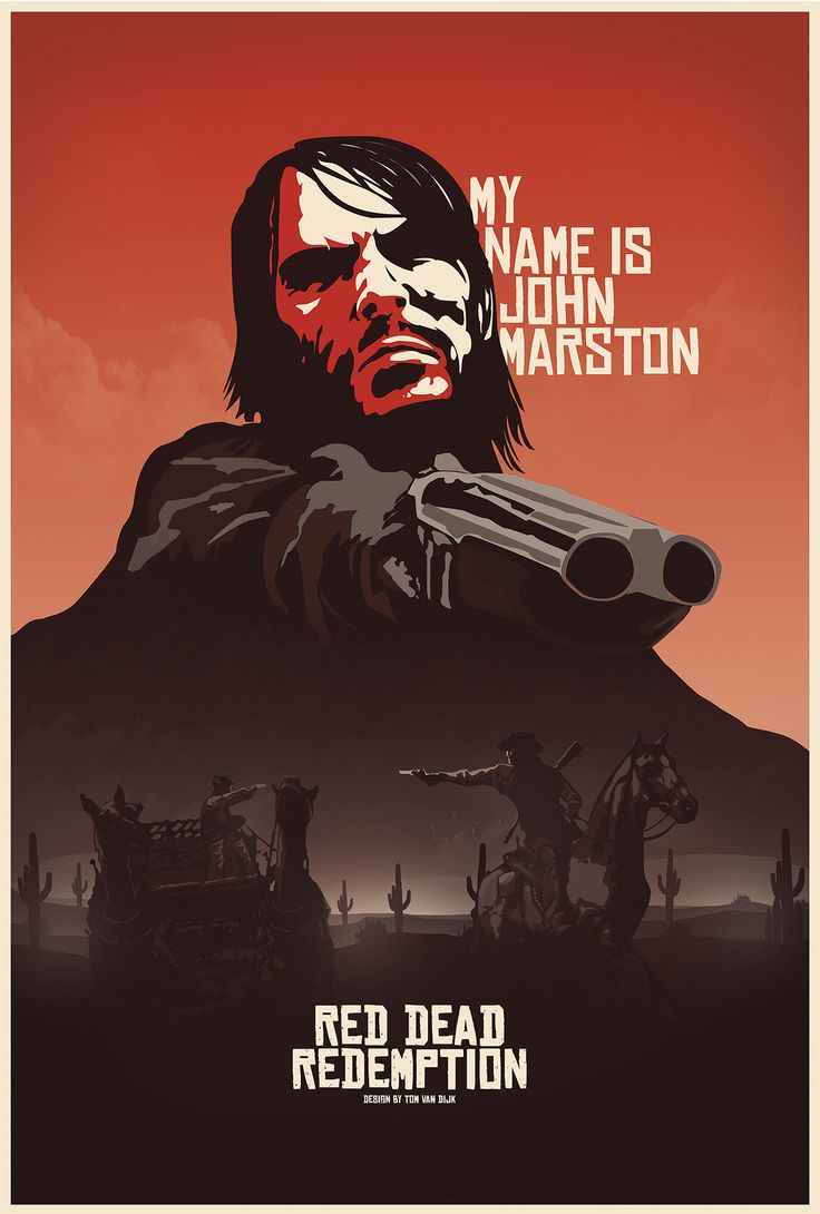 My name is john marston and the cover art looks fuck all like me in the game