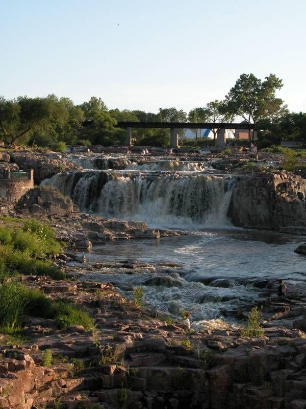 Falls of the Big Sioux River (Sioux Falls), Sioux Falls, South Dakota