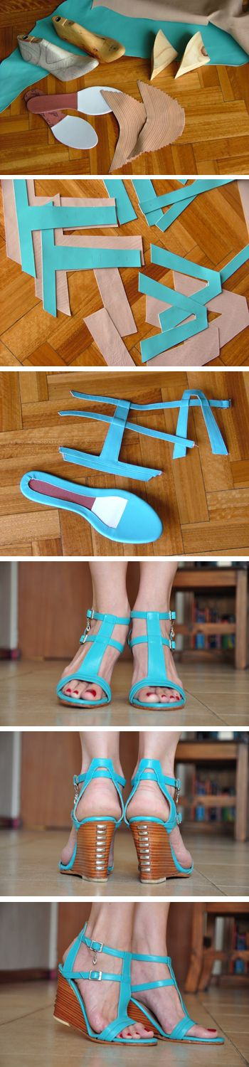 turquoise sandals
