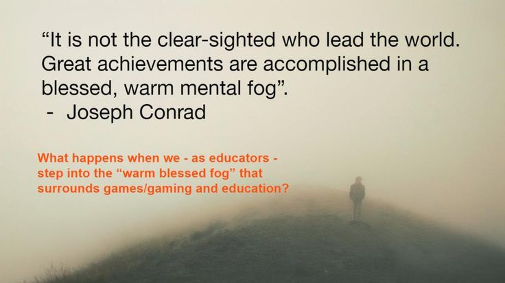 Gazing through the fog surrounding games and learning - NZCER BLOG