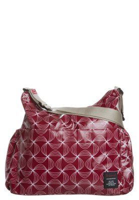 Baby changing bag - twisted red