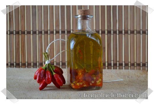 OLIO AL PEPERONCINO fragolaelettrica.com Le ricette di Ennio Zaccariello #Ricetta