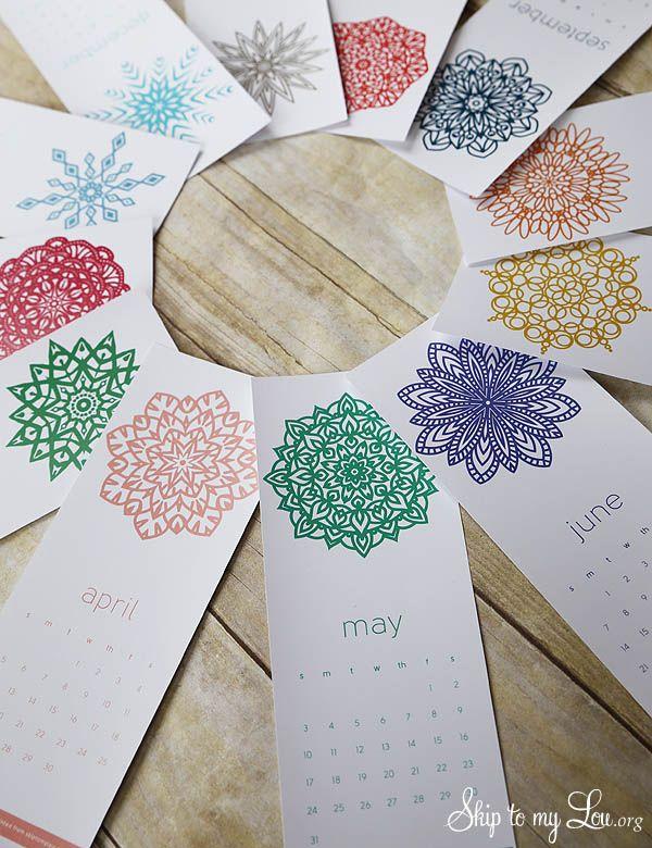 2015 Printable Calendar free, calendario imprimible gratis