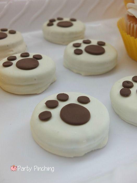 Original idea para aperitivo de una celebración de cumpleaños de la Patrulla Canina.#Pawpatrol #party