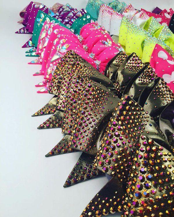 Bows on sale soon!! #bowsoflondon #cheerbows #cheer #BOL