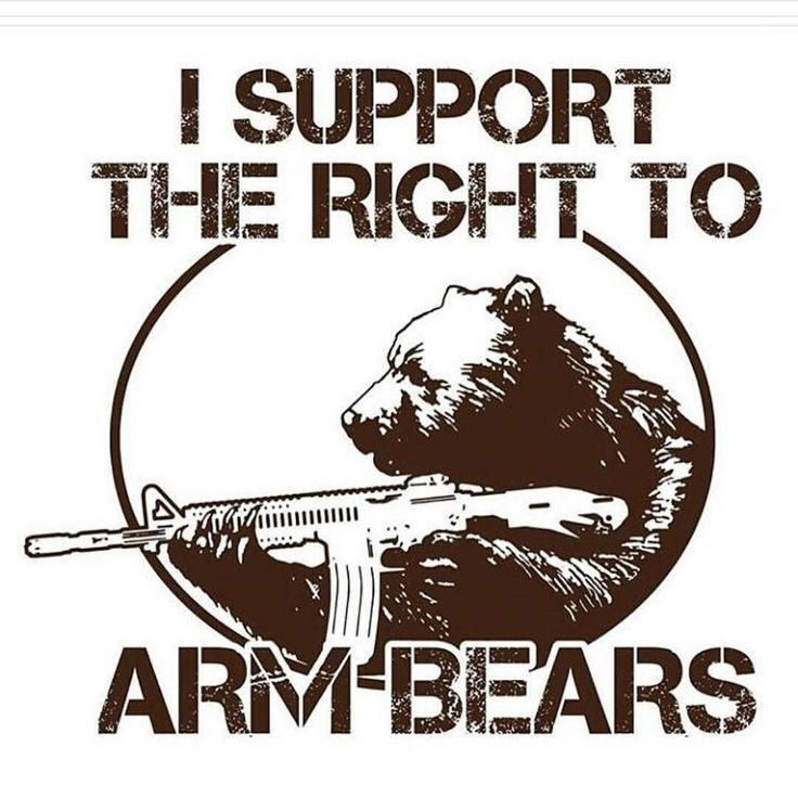 We need to arm all our bears.