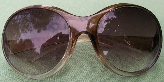 Very tempted by these . . . £9.00 Great vintage end of 1960s/1970s sunglasses. by Retrofanattic