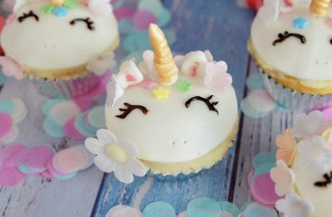 einhorn muffin    kindergeburtstag kuchen