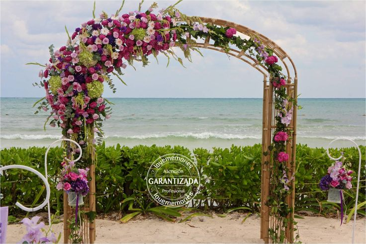 Arco de #boda tipo #Boho  #LoveMemories #Weddings #CreandoMomentosMemorables.