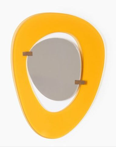 Max Ingrand, Yellow-framed mirror , 1950's
