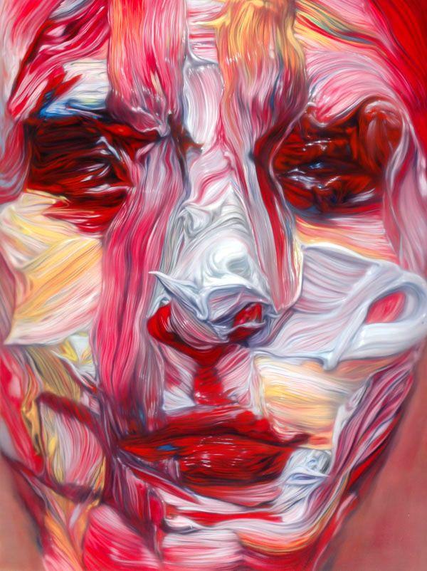 Stephan Balleux. S)Face, Artists Stephane, Beach House, Art Drawing, Art Inspiration, Art Photography, Stephane Balleux, Canvas, Oil Painting