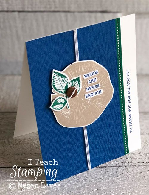 Textured Cardstock Paper Craft I Teach Stamping Paper Cards