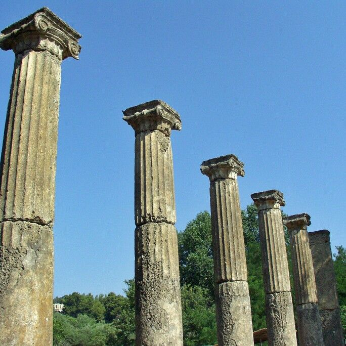 Palestra-Olympia-Greece  We offer the best private tours! Book now!  www.guidemeingreece.tours   #palestraolympia #ionicstyle #ancientcolums #ancientolympia #archaeologicalsiteofolympia #tourguide #privatetour #olympiatour #travelolympia #palestra #olympicspirit #olympicflame #olympicgames #guidemeingreece #guidemeingreecetours #privatetour #olympiaguide #katakolo #cruise #athlete #boxing #wrestling #greece #summer #architecture #art #archaeology #trip