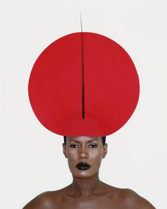 "The Impossible Cool. on Twitter: ""Grace Jones for Philip Treacy, London, 1998. http://t.co/eXE9A5RKD8"""