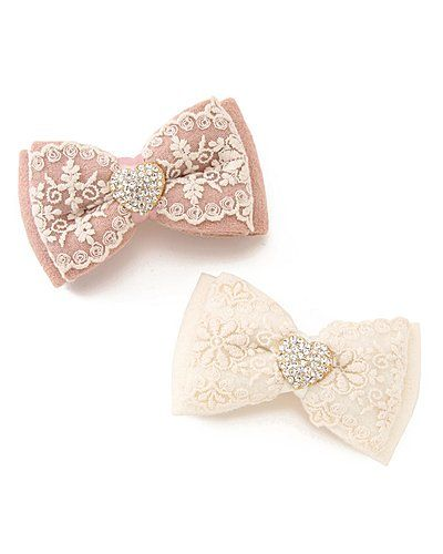 lace bows (no directions on link, links to an Asian site)