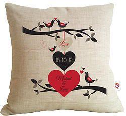 3 Hearts - Love Cushion