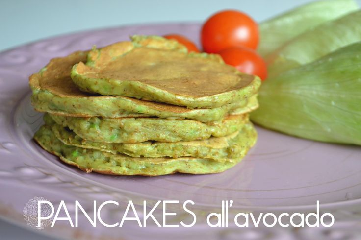 Pancakes all'avocado