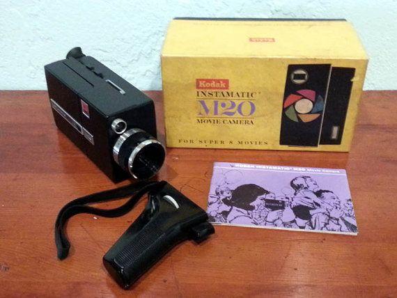 Kodak M20 Instamatic Super 8 Movie Camera by DaytonaVintage