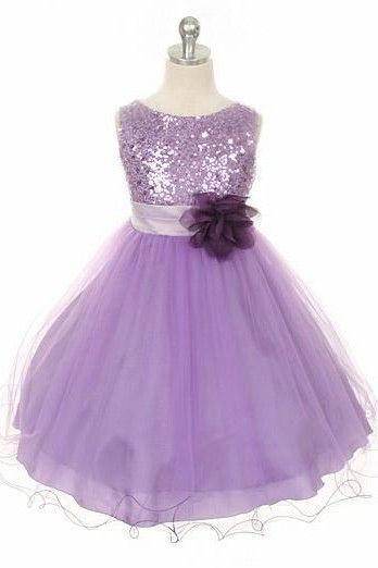 $56.63-Lovely Tea-Length Floral Sequins&Satin Purple Junior Bridesmaid Dress with Belt. http://www.ucenterdress.com/floral-tea-length-floral-sequins&satin-flower-girl-dress-with-sash-pMK_401603.html.  Free Shipping & Free Custom Made Service! Shop junior bridesmaid dress short, long junior bridesmaid dress, flower girl dresses. We have great 2016 Junior Bridesmaid Dress on sale. Buy Junior Bridesmaid Dress online at UcenterDress.com today! #JuniorBridesmaidDress