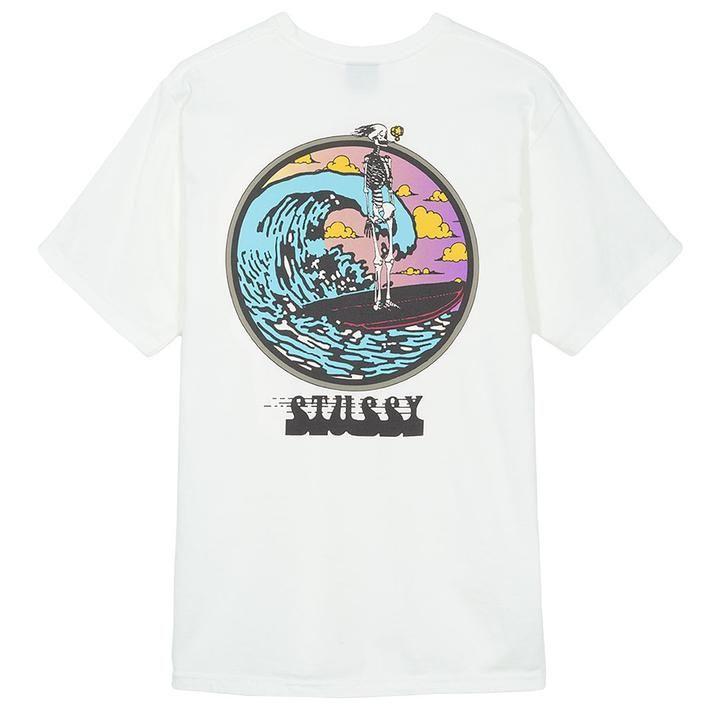 STUSSY 19ss SUMMER CARNATION TEE Flower Short sSleeve T-shirt S-XL